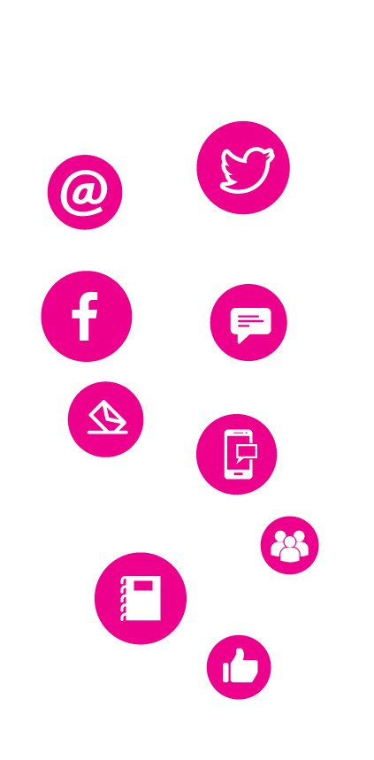 Email, SMS and Social media in one place